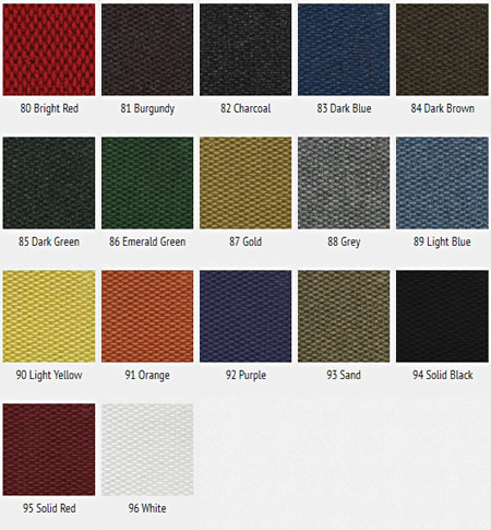 Berber Roll Color Options